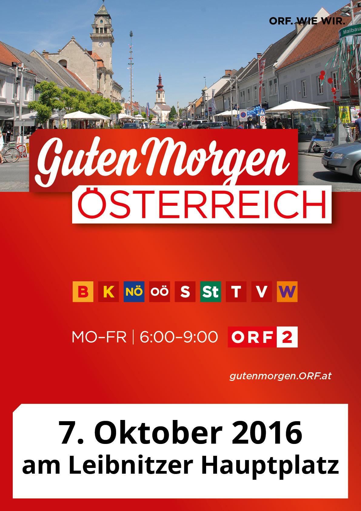 Orf Sendung Guten Morgen österreich Zu Gast In Leibnitz